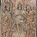 Panneau de l'abbaye de vicoigne