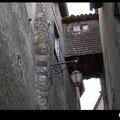 ROYAT - le couloirs entre les murs