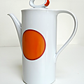 Vintage ... cafetiere bavaria * orange