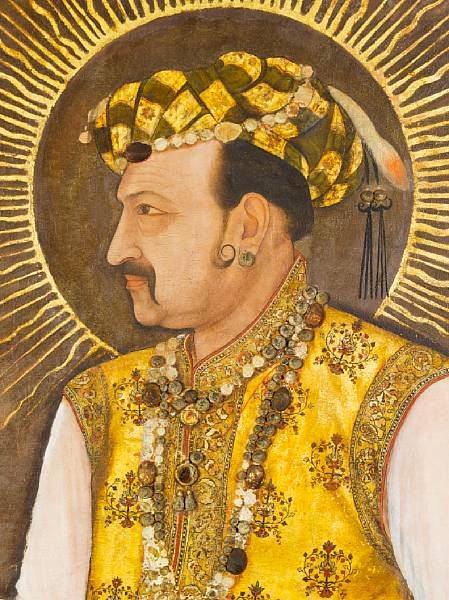 Mughal Masterpiece: Portrait of Emperor Jahangir Sells for ...