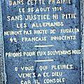Commémoration des massacres de civils de 1914 haybes et margny, même combat pour la mémoire