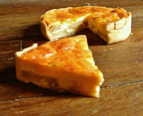 tarte aux pomme de terre et ricotta