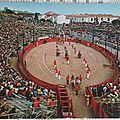 Fréjus - arènes romaines datée 1977