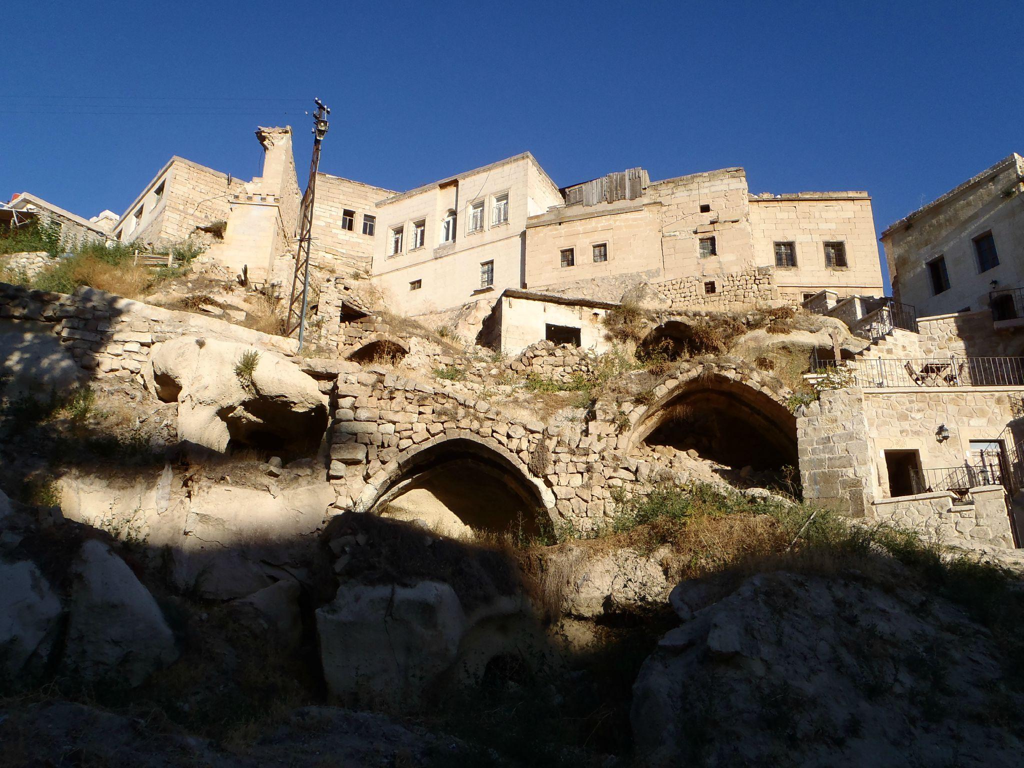 turquie cappadoce ortéhisar bas du village