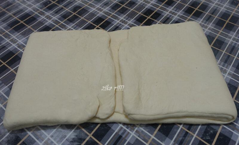 pâte feuilletée ( façonnage roulé ) 8