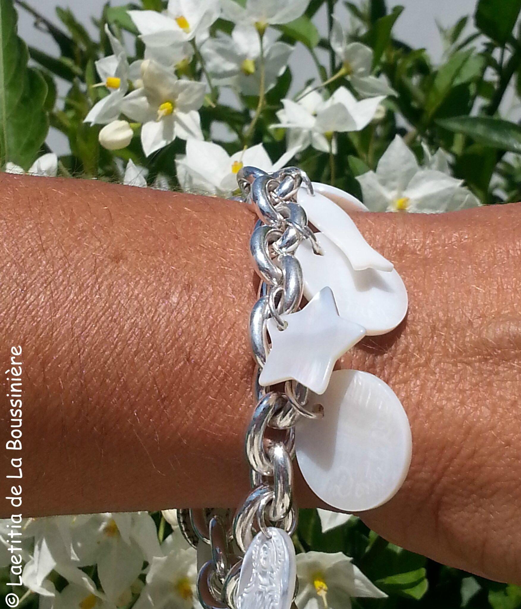 Le bracelet de Flo personnalisé