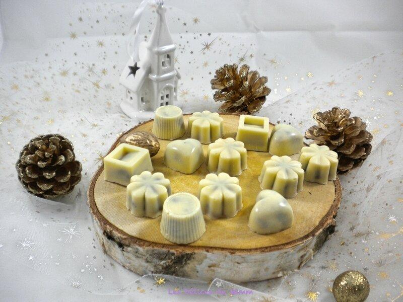 Chocolatsblancsfourrésaupraliné