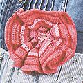 Les accessoires au crochet #5 : broche