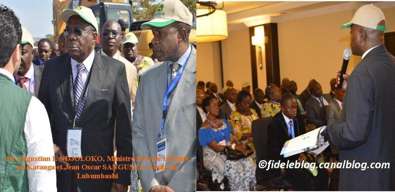 Combinaison d'images Katanga AGRIMINES EXPO 2014. Photo fideleblog