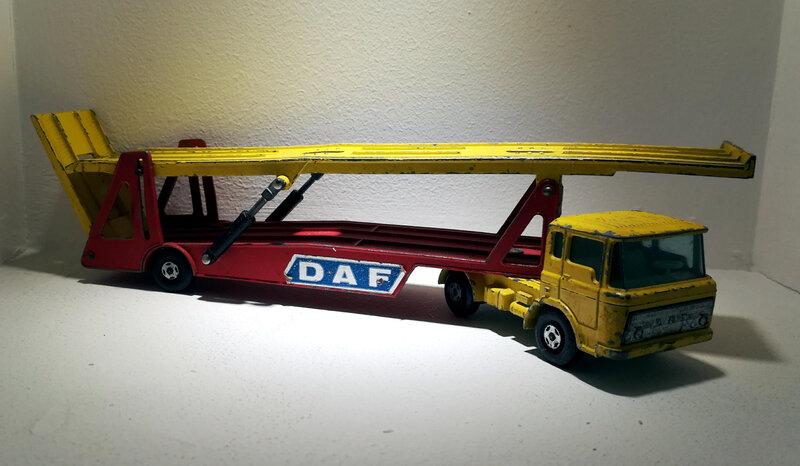 Daf K11 car transporter (Matchbox)