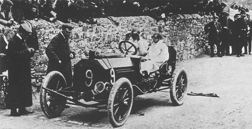 1904 gordon bennett trophy, homburg - sidney girling (wolseley 72) 9th