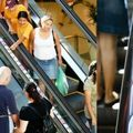 Sushis taking the escalator down under