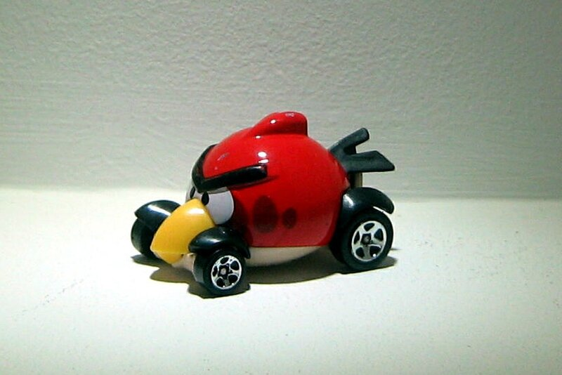 Red bird (2012)(Hotwheels)
