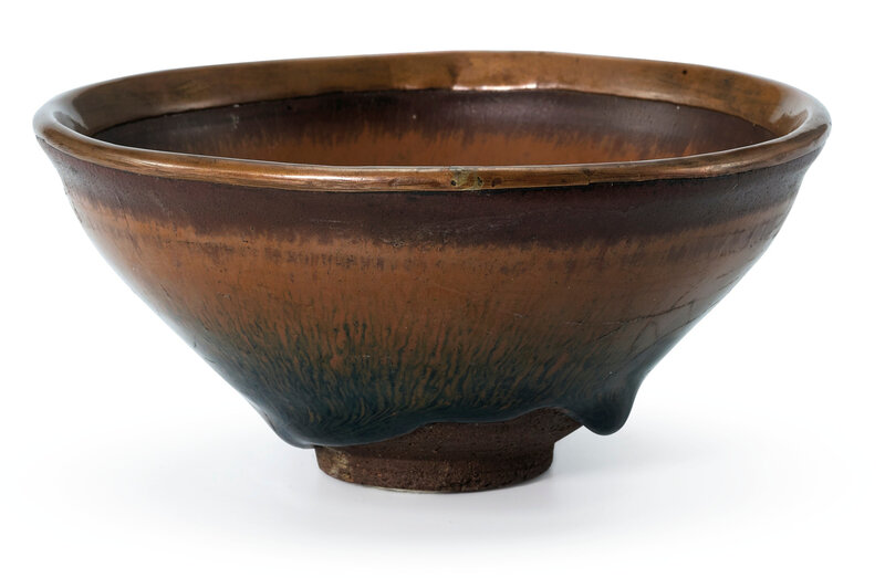 A Jian 'Hare's fur' bowl, Southern Song Dynasty (1127-1279)