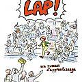 Lap! d'aurélia aurita: un roman d'apprentissage aux éditions les impressions nouvelles, 2014