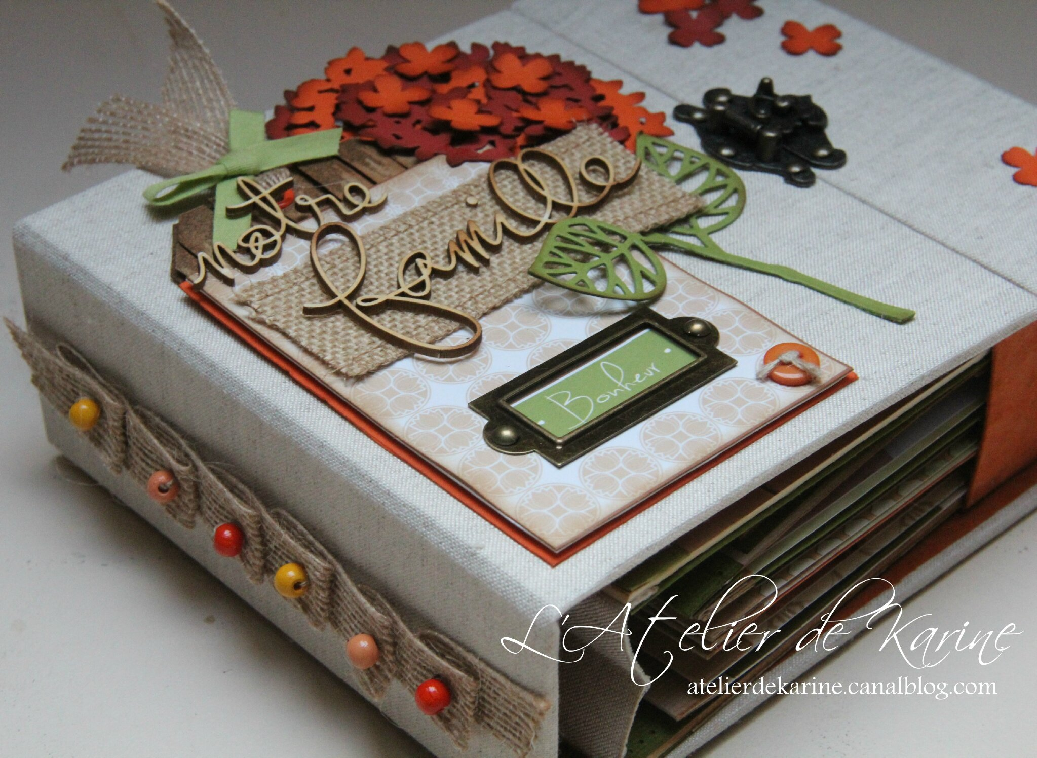 Mini Album et son coffret - Pure Lorelaïl Design 5