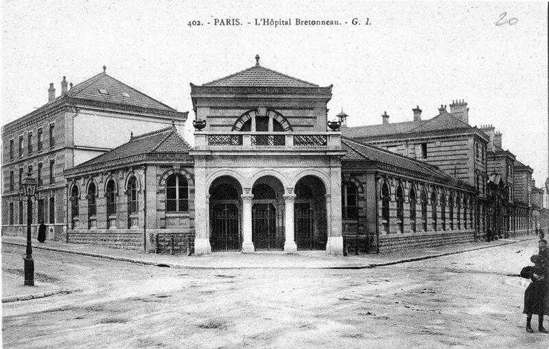 Hôpital Bretonneau à Paris 18ème