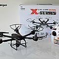 Test du drone x600 de mjx