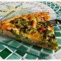 Tarte au saumon et aux brocolis