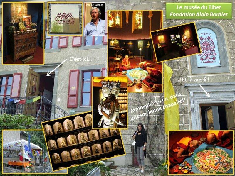 musee museum tibet zen bouddha mandala gruyeres suisse