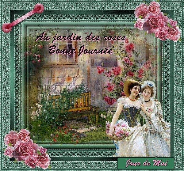 au jardin des roses