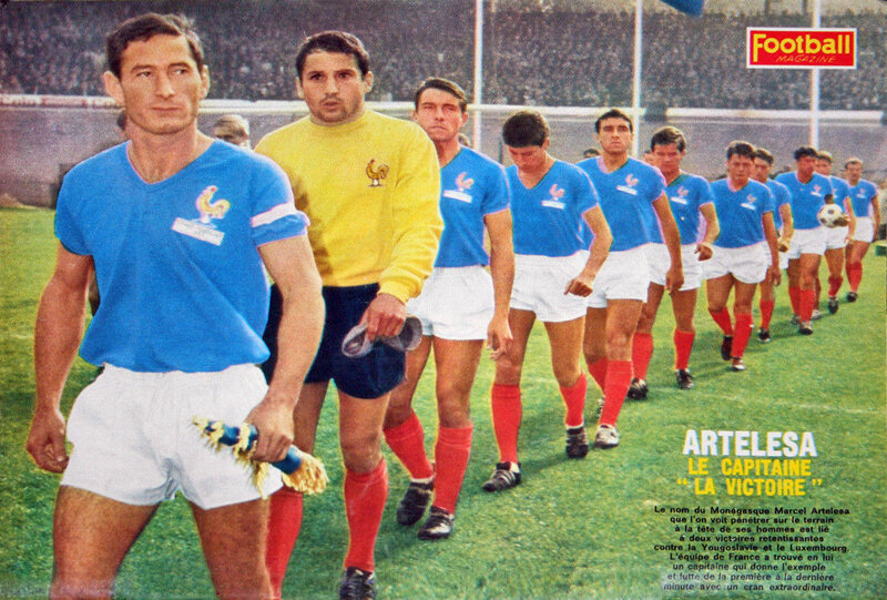 1966 Equipe France Football Magasine