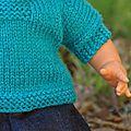 Tricoter pour une poupée...