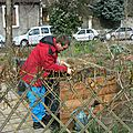 Jardinage avec florian