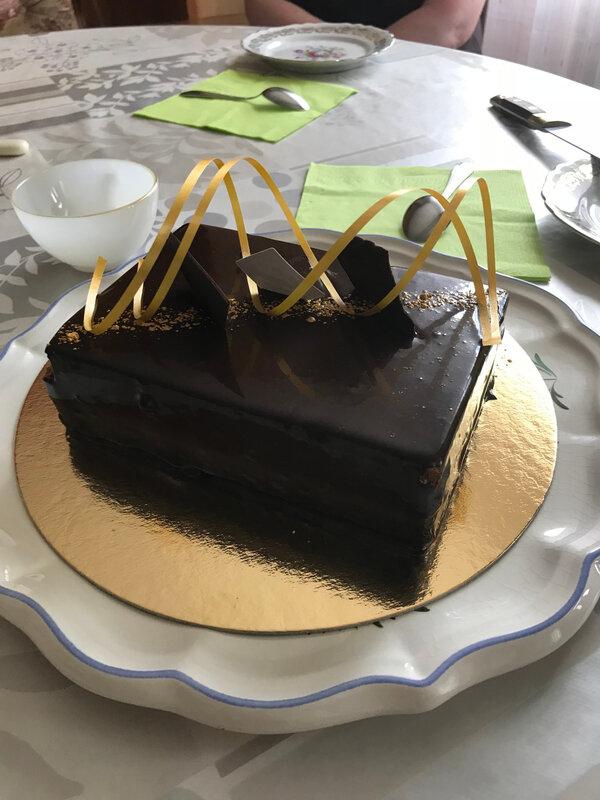 Gâteau Fête des papas - juin 2018