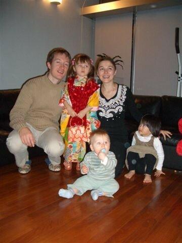 Famille Foucher chez les Takahashi