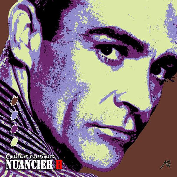Nuancier pop'art H, Sean Connery