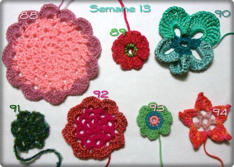 semaine 13 fleurs