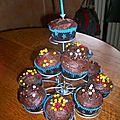 Cupcakes chocolat chocolat chocolat!!!!