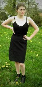 jupe noir t 36