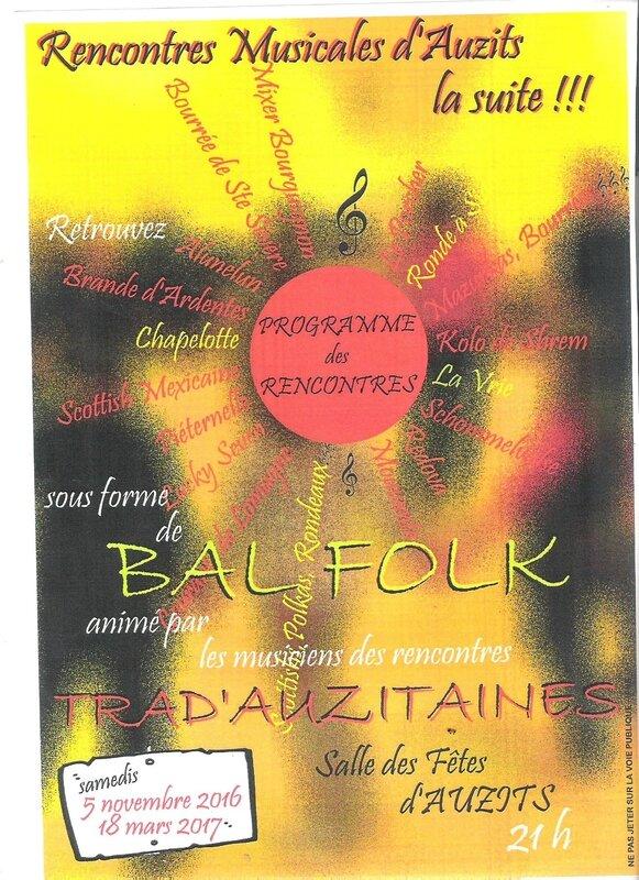 affiche bal folk trada 2016