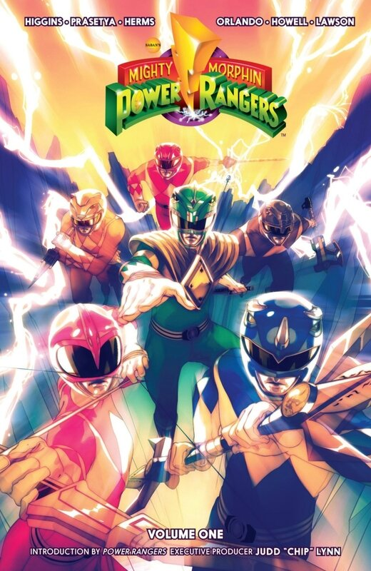 boom mighty morphin power rangers vol 01 TP