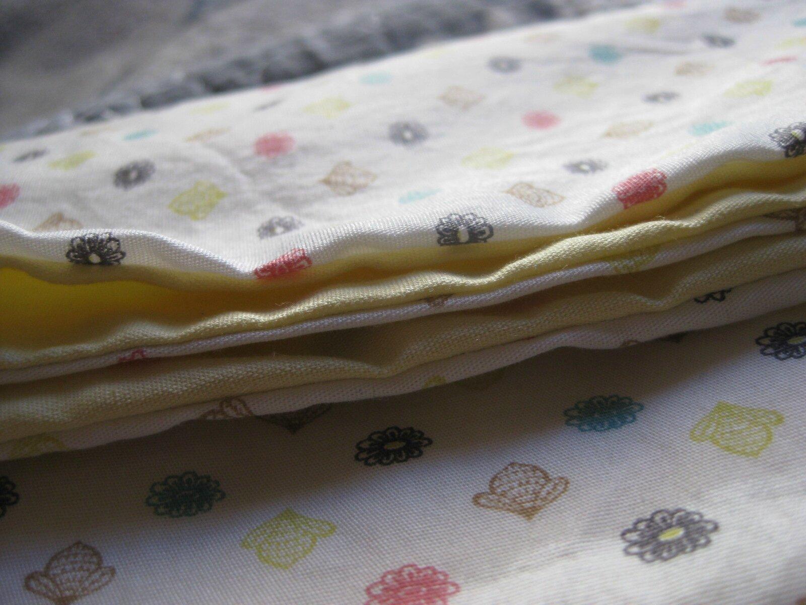 Petite brassière kimono pour un petit Emile, tissu fabrication française: