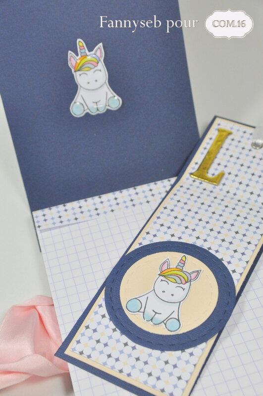 bloc note et marque page fannyseb détails 4 collection kate papiers COM16