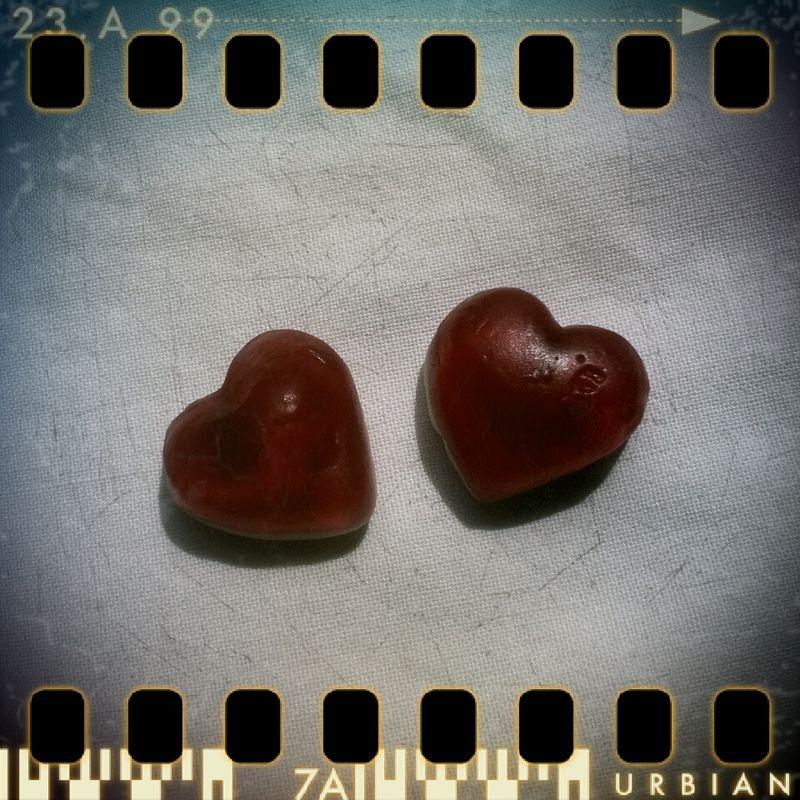 coeur bonbons pola