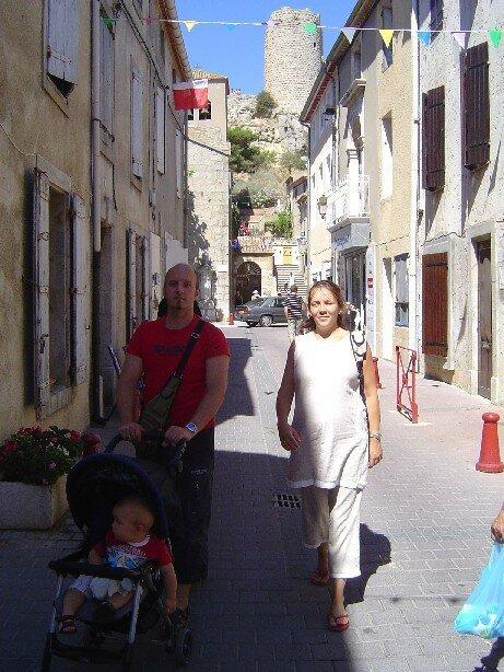 Au marche avec papa&maman