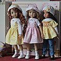 Trois jolies filles en mode printanière...