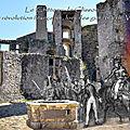 Clisson - le château pendant révolution française, lors des guerres de vendée.