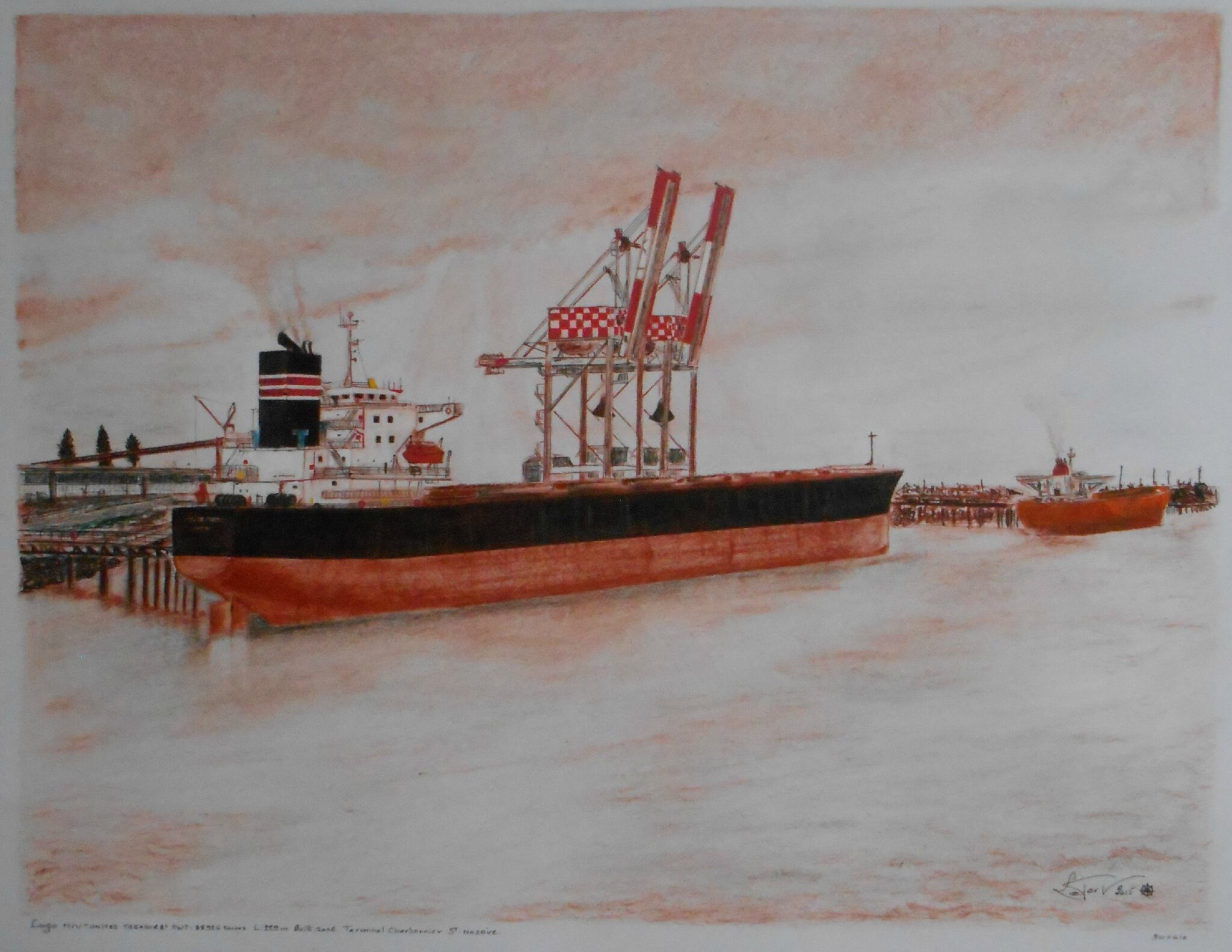Dry bulk carrier UNITED TREASURE - Sébastien LE PORT