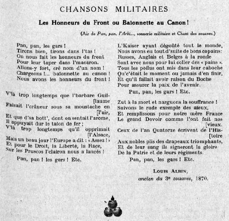 Albin honneurs militaires