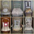Mosaique de chaises