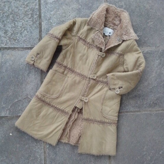 manteau long peau children