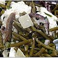 Salade de haricots verts à la mozzarella