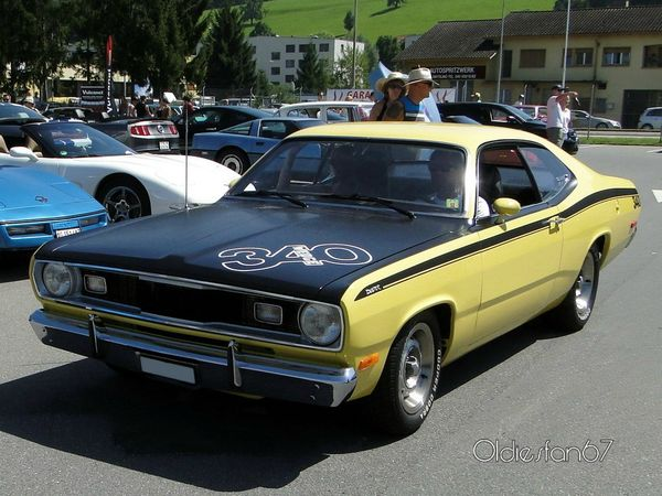 plymouth duster 340 fastback coupe 1972 a