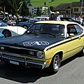 Plymouth duster 340 fastback coupe, 1972
