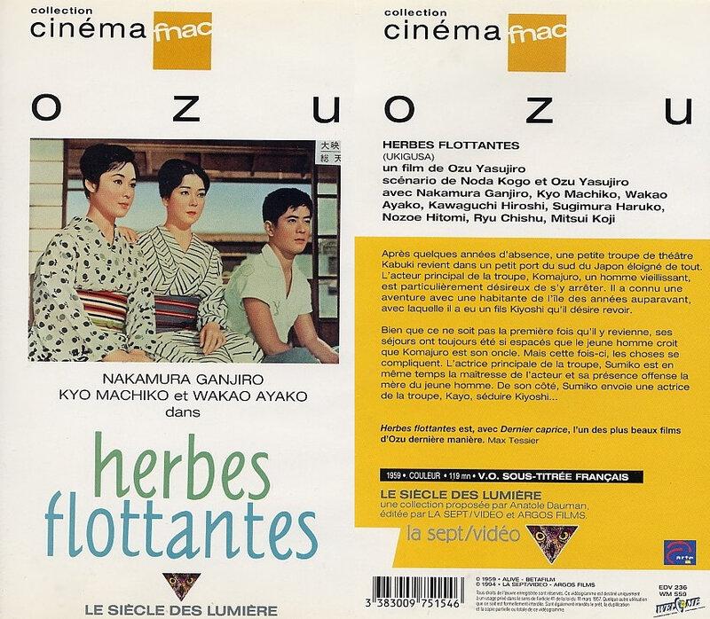 CanalBlog Cinema Ozu K709 Herbes Flottantes